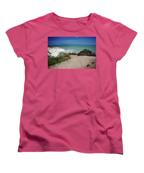 The Scala Dei Turchi Women's T-Shirt (Standard Cut) by Patrick Boening