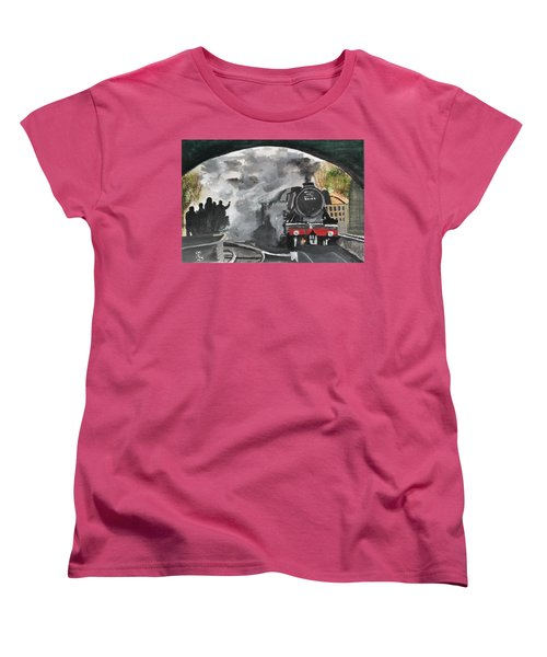 The Scotsman Women's T-Shirt (Standard Cut) by Carole Robins