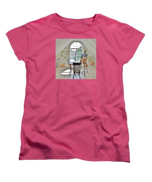 The Secret Room Women's T-Shirt (Standard Cut) by Lisa Kaiser