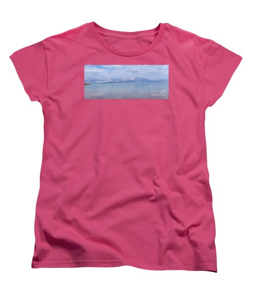 Women's T-Shirt (Standard Cut) featuring the photograph The Silence Of The Dead Sea by Yoel Koskas