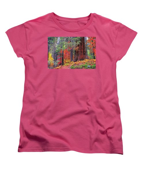 The Small And The Mighty Women's T-Shirt (Standard Cut) by Lynn Bauer