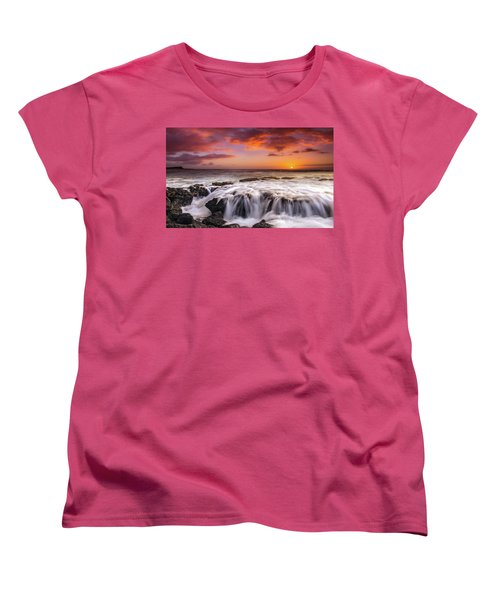 The Sound Of The Sea Women's T-Shirt (Standard Cut) by James Roemmling