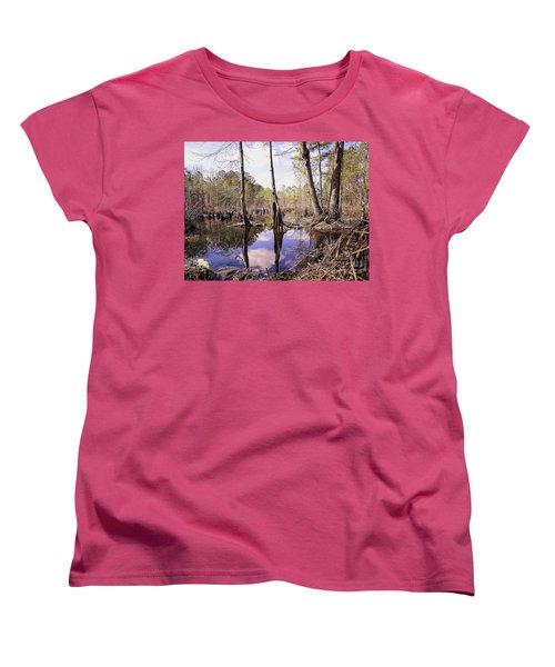 The Swamp Women's T-Shirt (Standard Cut) by Melissa Messick