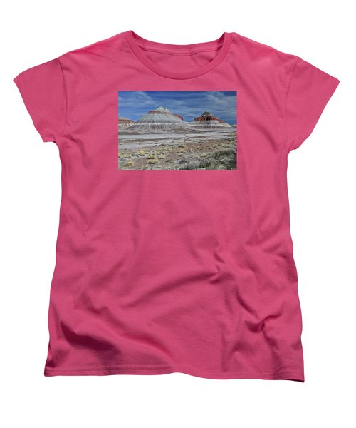 Women's T-Shirt (Standard Cut) featuring the photograph the TeePees by Gary Kaylor