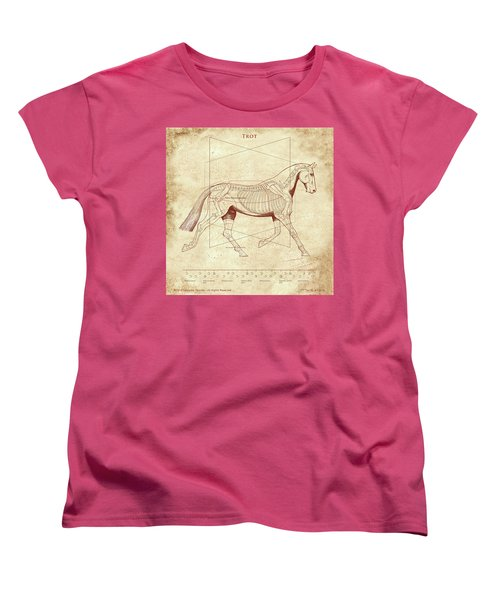The Trot - The Horse's Trot Revealed Women's T-Shirt (Standard Cut) by Catherine Twomey