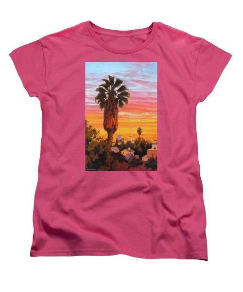 The Urban Jungle Women's T-Shirt (Standard Cut) by Andrew Danielsen