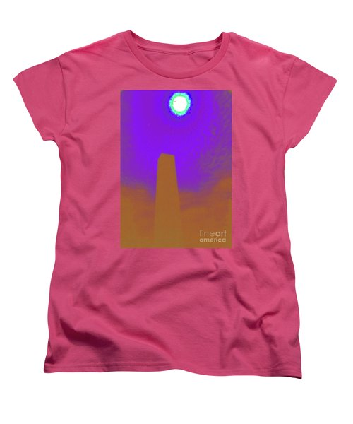Women's T-Shirt (Standard Cut) featuring the photograph The View From Elsewhere by Jesse Ciazza