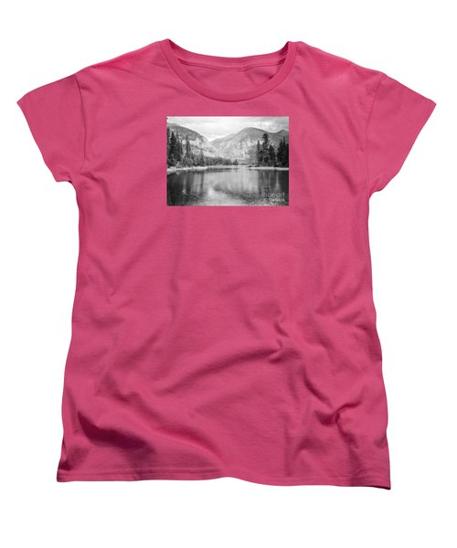 Women's T-Shirt (Standard Cut) featuring the photograph The Way Down- Journey by Janie Johnson