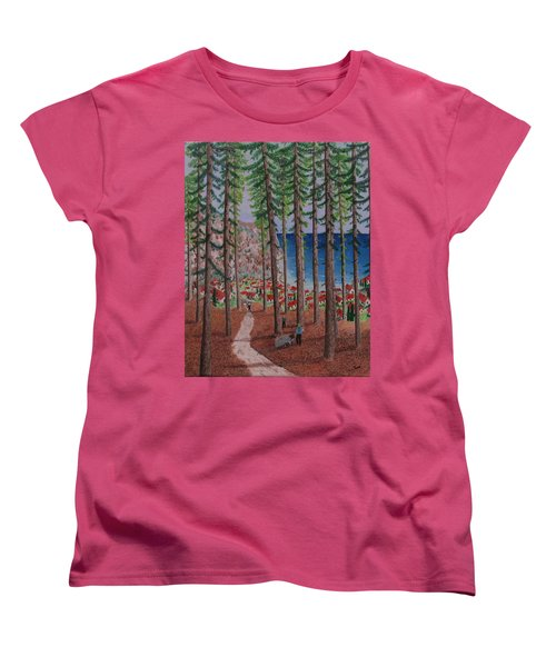 The Wood Collectors Women's T-Shirt (Standard Cut) by Hilda and Jose Garrancho