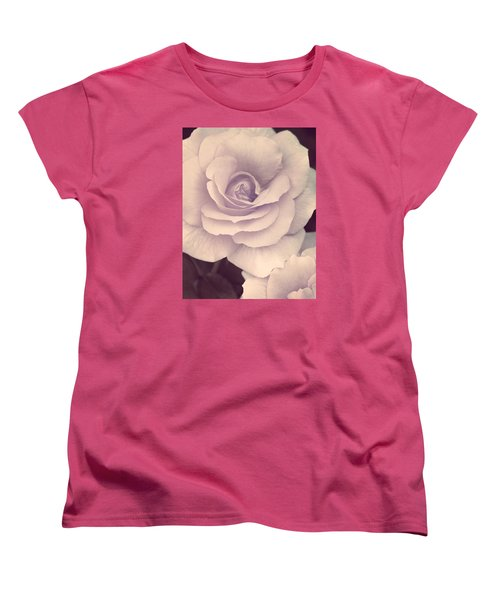 Women's T-Shirt (Standard Cut) featuring the photograph This Sweet Romance by The Art Of Marilyn Ridoutt-Greene