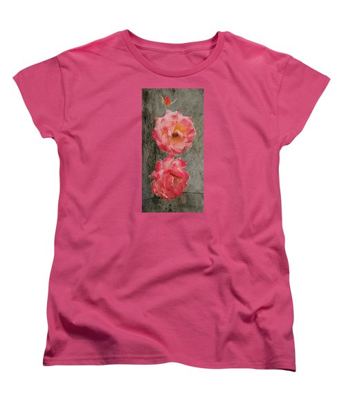 Three Roses Women's T-Shirt (Standard Cut)
