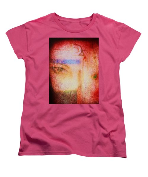Through A Glass Darkly Women's T-Shirt (Standard Cut) by Roberto Prusso