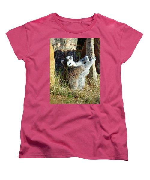 Through Christ Women's T-Shirt (Standard Cut) by Inspirational Photo Creations Audrey Woods