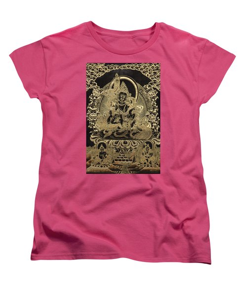 Tibetan Thangka - Vaishravana Women's T-Shirt (Standard Cut) by Serge Averbukh