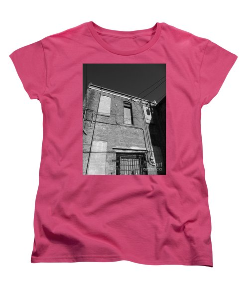 Tightrope My A.. Women's T-Shirt (Standard Cut) by Marie Neder