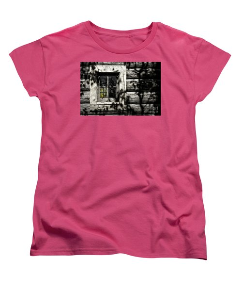 Women's T-Shirt (Standard Cut) featuring the photograph Timber Hand-crafted by Brad Allen Fine Art