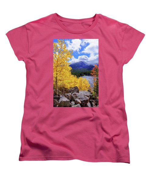 Women's T-Shirt (Standard Cut) featuring the photograph Time by Chad Dutson