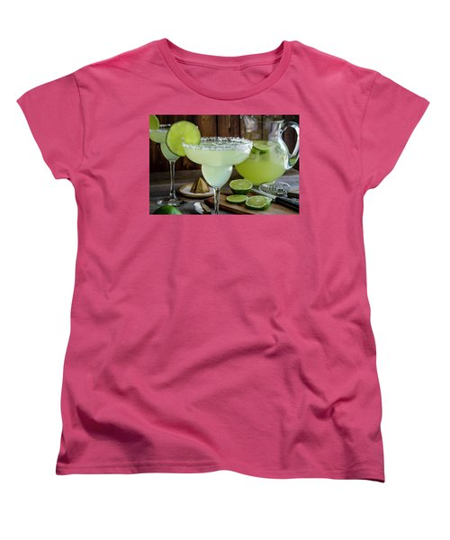 Women's T-Shirt (Standard Cut) featuring the photograph Time For Margaritas by Teri Virbickis
