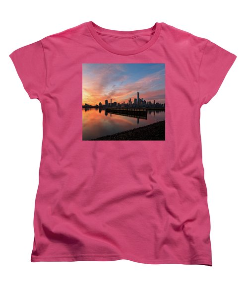 Time To Reflect  Women's T-Shirt (Standard Cut) by Anthony Fields