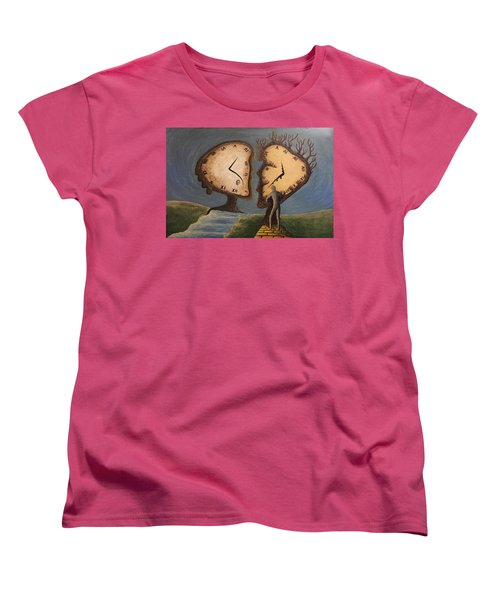 Time Travel 2016 Women's T-Shirt (Standard Cut) by Steve  Hester