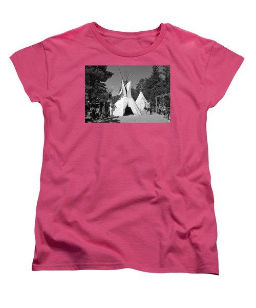 Tipis In Black Hills Women's T-Shirt (Standard Cut) by Matt Harang