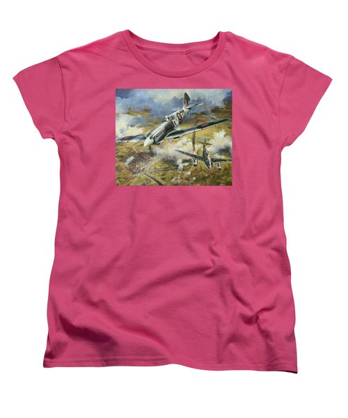 Tony Gaze, Unsung Hero Women's T-Shirt (Standard Cut) by Colin Parker
