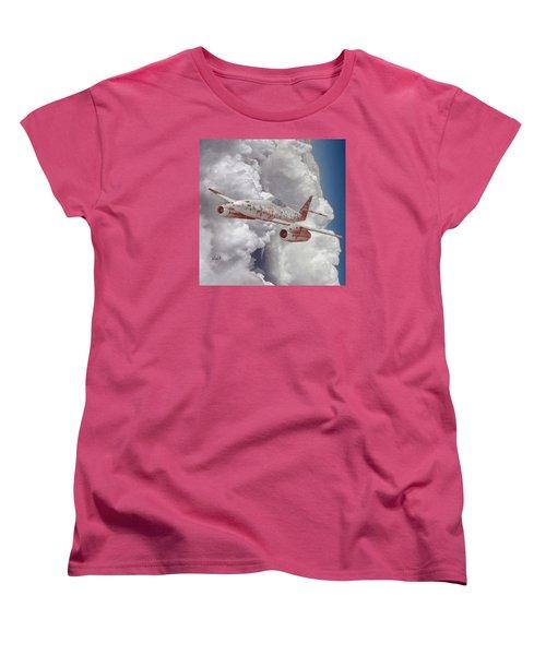 Women's T-Shirt (Standard Cut) featuring the digital art Too Little, Too Late by Walter Chamberlain