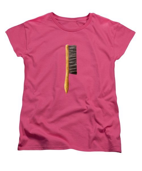 Tools On Wood 52 On Bw Women's T-Shirt (Standard Fit)
