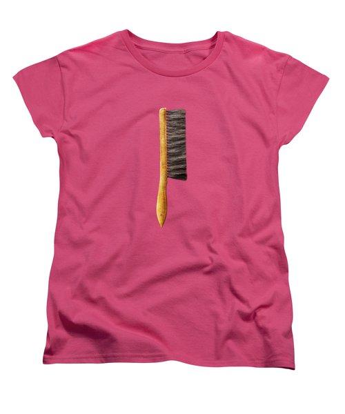 Tools On Wood 52 On Bw Women's T-Shirt (Standard Cut)