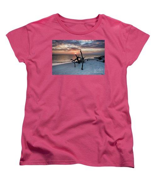 Torch Women's T-Shirt (Standard Cut) by Robert Loe