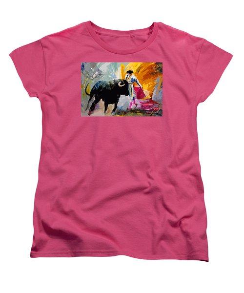 Toroscape 03 Women's T-Shirt (Standard Cut) by Miki De Goodaboom