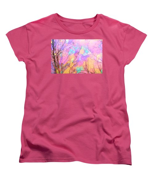 Tree Dance Women's T-Shirt (Standard Cut) by Kathy Bassett