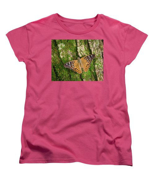 Women's T-Shirt (Standard Cut) featuring the photograph Tree Hugger by Bill Pevlor