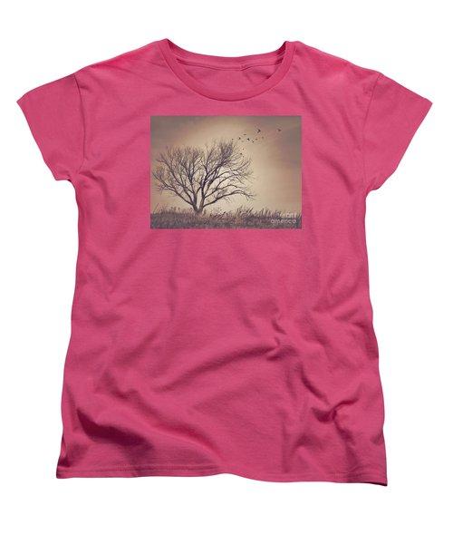 Women's T-Shirt (Standard Cut) featuring the photograph Tree by Juli Scalzi