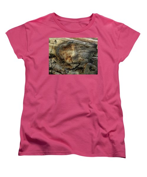 Women's T-Shirt (Standard Cut) featuring the photograph Tree Memories # 36 by Ed Hall