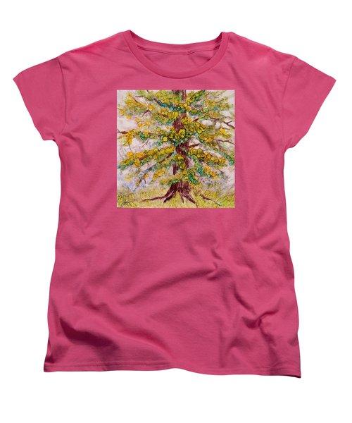 Tree Of Life Women's T-Shirt (Standard Cut) by Joanne Smoley
