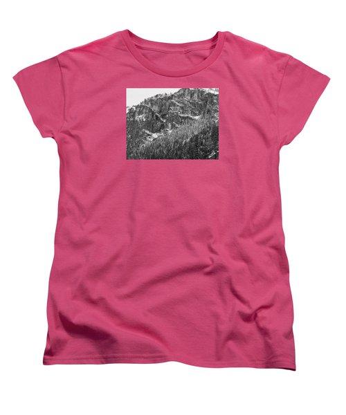 Women's T-Shirt (Standard Cut) featuring the photograph Treefall by Lora Lee Chapman