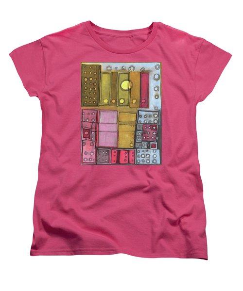 Geometric I Women's T-Shirt (Standard Cut) by Sandra Church