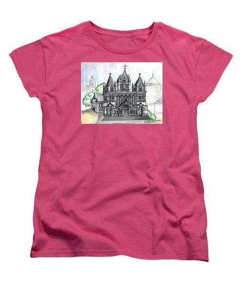 Trinity Church Boston Women's T-Shirt (Standard Cut)