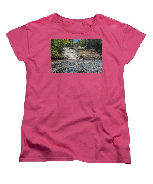 Triple Falls Second Tier Women's T-Shirt (Standard Cut) by Steven Richardson