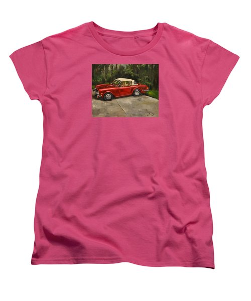 Women's T-Shirt (Standard Cut) featuring the painting Triumph by Lindsay Frost