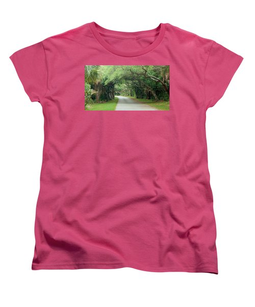 Tropical Magic Forest Women's T-Shirt (Standard Cut)
