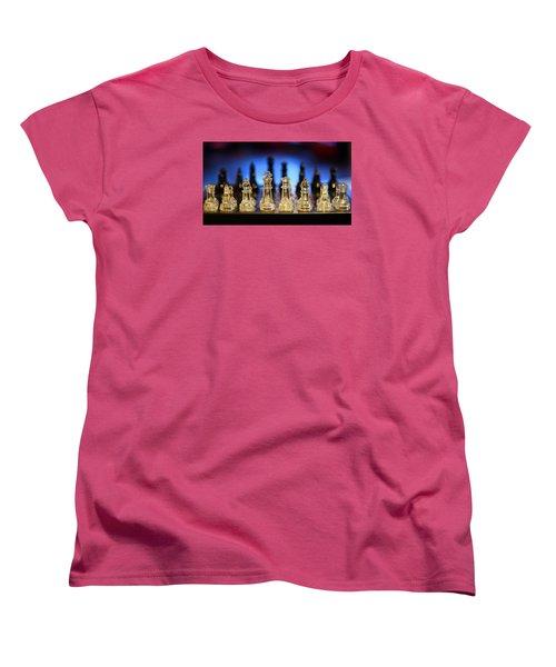 Trouble On The Horizon Women's T-Shirt (Standard Cut) by Stephen Flint