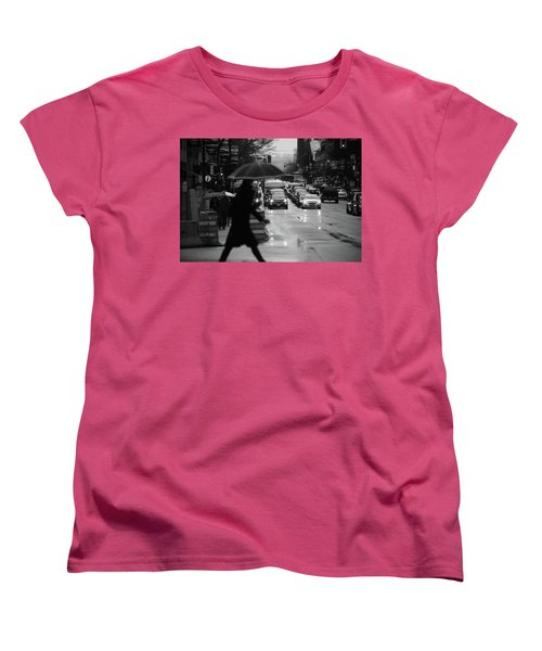 Women's T-Shirt (Standard Cut) featuring the photograph Trying To Stand Out  by Empty Wall