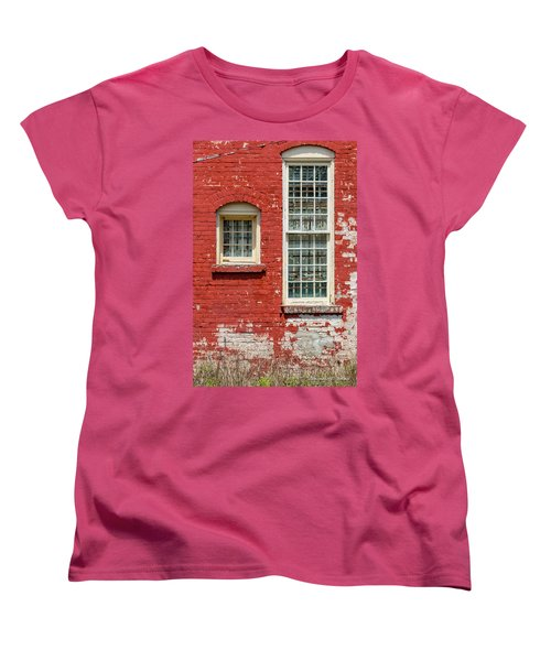Women's T-Shirt (Standard Cut) featuring the photograph Twins by Christopher Holmes