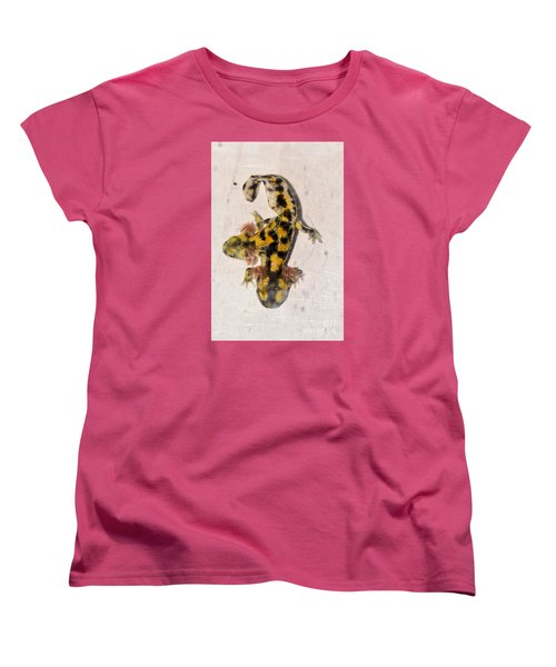 Two-headed Near Eastern Fire Salamande Women's T-Shirt (Standard Cut) by Shay Levy