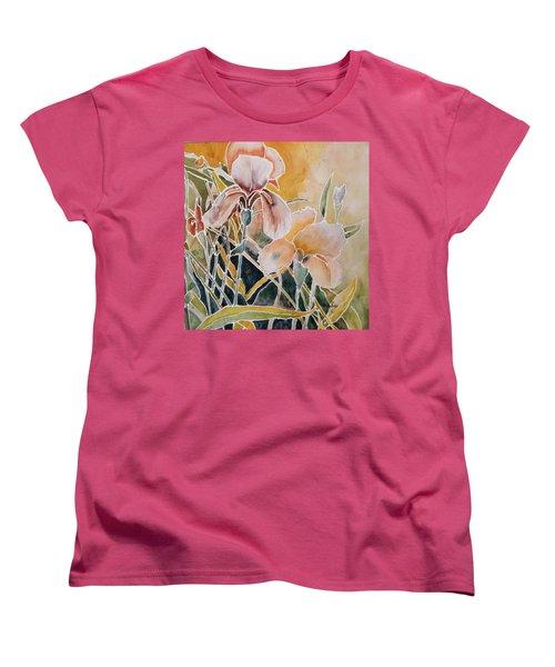 Two Irises Women's T-Shirt (Standard Cut)