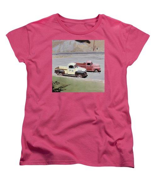 Two Pickups Women's T-Shirt (Standard Cut)