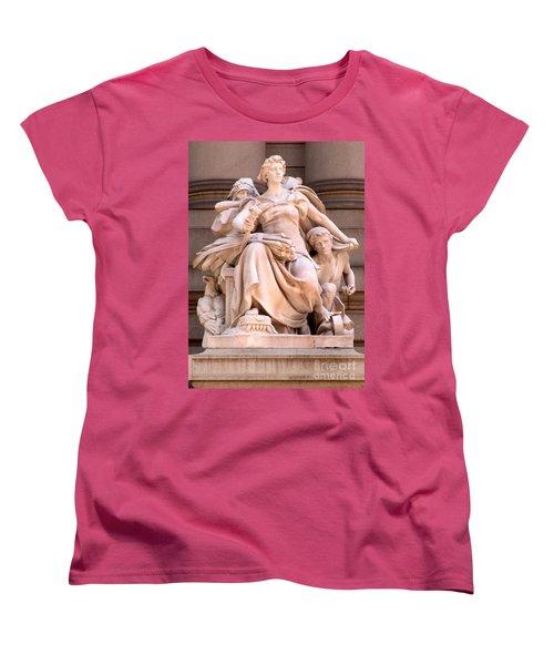 U S Custom House 4 Women's T-Shirt (Standard Cut) by Randall Weidner