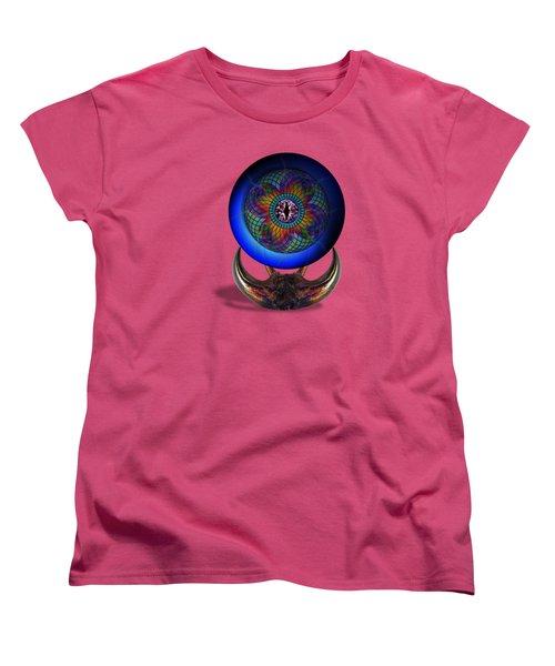 Uadjet's Eye Women's T-Shirt (Standard Cut) by Iowan Stone-Flowers